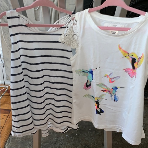 H&M Other - 2 H&M shirts.   So cute size 6-8